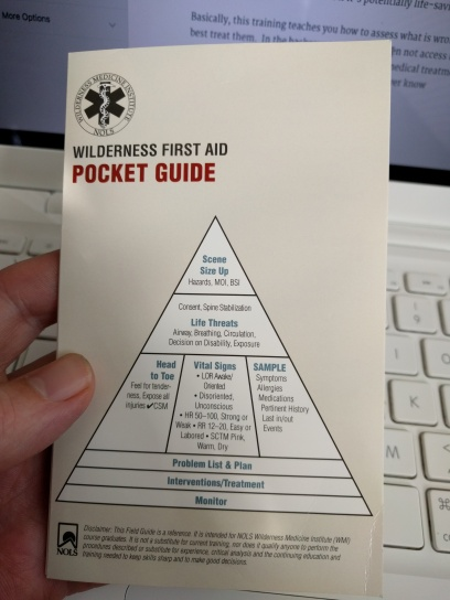 Handy Pocket Guide that easily fits in your first aid kit.