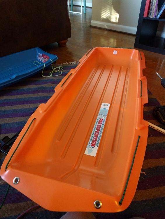 Upgrading my Sled/Pulk MYOG –  douchepacker
