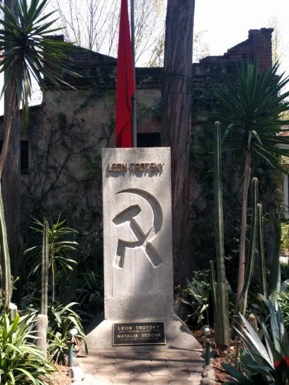 Leon Trotsky's grave